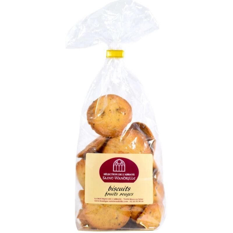 Biscuits aux fruits rouges -Abbaye de Saint-Wandrille - Divine Box