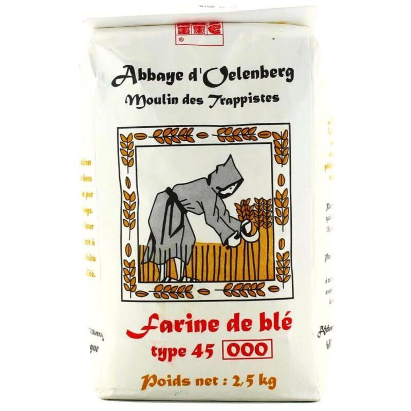 Farine de blé T45 patissiere - Abbaye Oelenberg - Divine Box