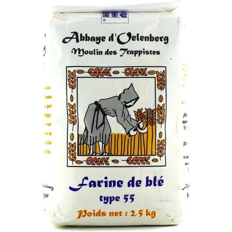 Farine de blé T55 boulangère - Abbyae Oelenberg - Divine Box