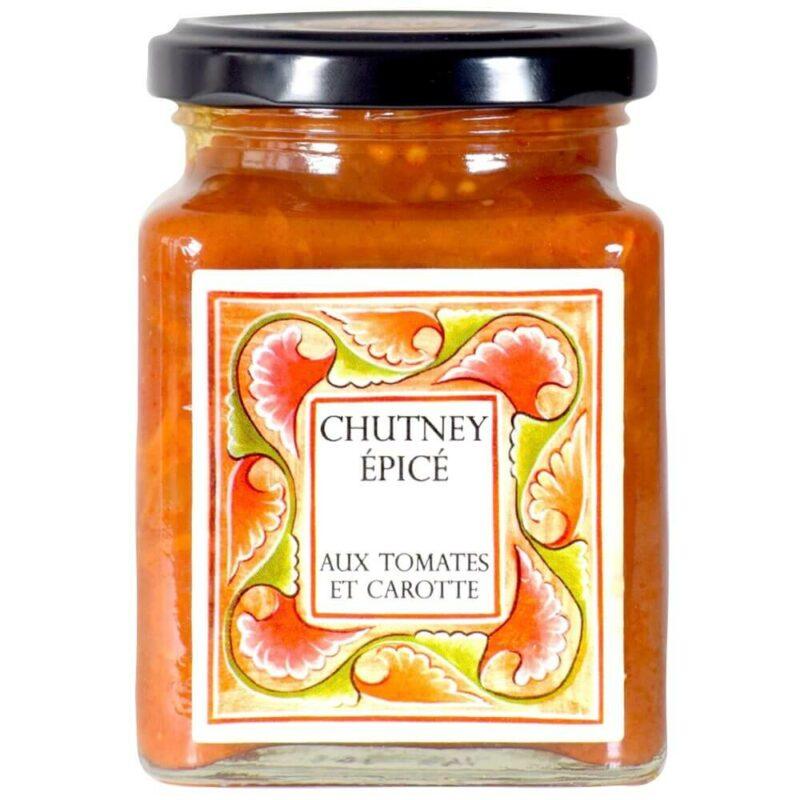 Chutney épicé de carotte aux tomates- Abbaye de Solan-Divine Box